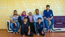 시리아 난민 쉬이크 아메드 가족