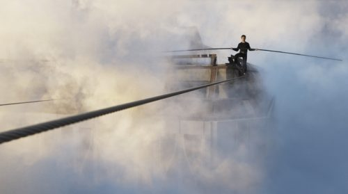 복수 전공을 결심한 사람의 흔한 모습 ⓒ영화 '하늘을 걷는 남자'