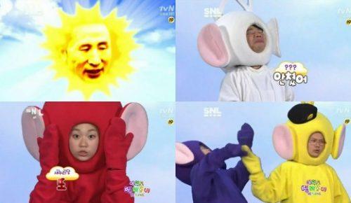 tvN SNL코리아 여의도텔레토비